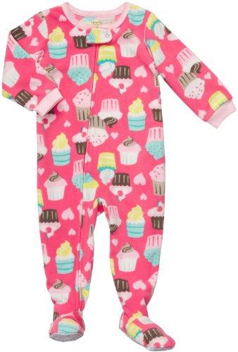 (Carter's Toddler Footed Fleece Sleeper - Cupcake Print-2T)