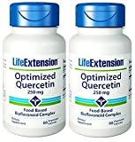 Life Extension Optimized Quercetin Capsules, 60-Count (2 Pack)