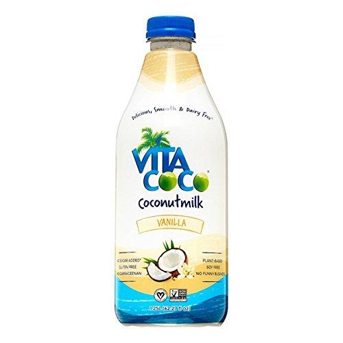 Vita Coco Coconut Milk, Vanilla, 42.27 Fluid Ounce (Pack of 06) (Coco Milk)