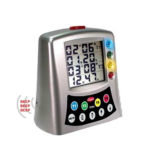 Cooper Atkins Multi Station Digital Timer -- 6 per case.
