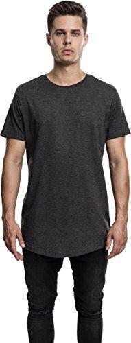 charcoal Urban Tee Classics 91 T shirt Long Melange Uomo Grau Shaped 6xUgzw7rn6