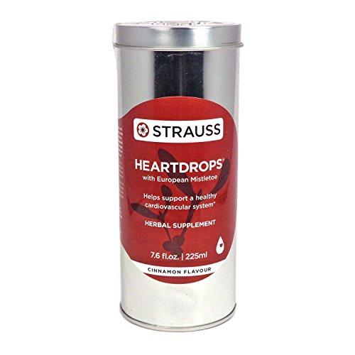 Strauss Heartdrops (Cinnamon, 7.6 fl. oz.   225 ml) by Strauss Naturals by Strauss Naturals