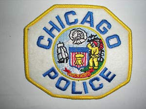 - Chicago, Illinois Police Department Patch - Embroidered ON Felt by HighQ Store