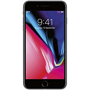 Apple iPhone 8 Plus 64 GB AT&T, Space Gray, Locked to AT&T (Certified Refurbished)