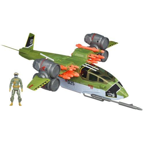 G.I. Joe Retaliation Ghost Hawk II Vtol Vehicle with Conrad ''Duke'' Hauser Figure by G. I. Joe