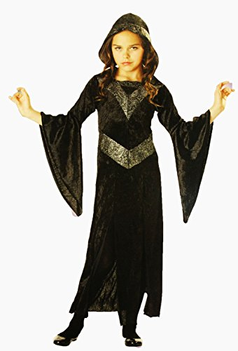 Totally Ghoul sorceress Girl's costume size: Large (10-12)