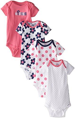 Gerber Baby Girls Variety Onesies