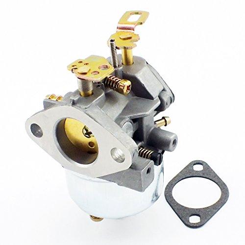 QAZAKY Carburetor With Mount Gasket Fuel Filte Primer Bulb Fuel Line for John Deere Snow blowers 526 726 732 826 826D 828D 832 1032 1032D Snowblower Carb