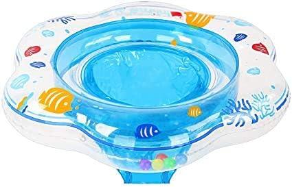 Flotadores de anillo de natación para bebés con asiento de seguridad Airbag doble Anillos de natación para bebés Natación de niños Flotadores de bebé para piscina Ayuda de entrenamiento de natación Fl