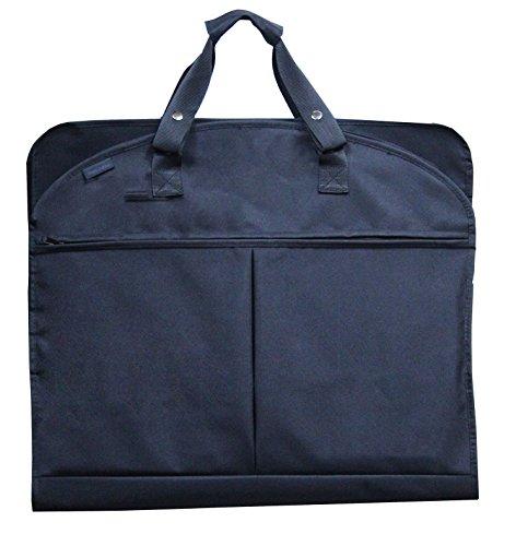 magictodoor-40-inch-garment-bag-extra-capacity-garment-bag-with-shoes-pockets-w-metal-hook-black