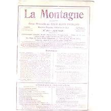 La montagne / revue mensuelle du club alpin francais / n° 213-juin 1928