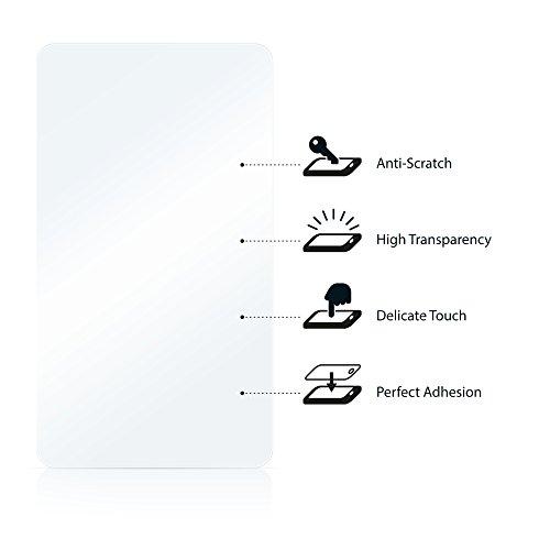 [6 Pack] Savvies Pellicola Protettiva per Apple iPhone 7 / iPhone 8 Protezione Proteggi Schermo - Trasparente