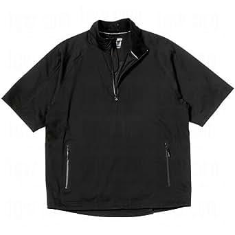 Cutter & Buck Men's Weathertec Elite Half Sleeve Half Zip XXX-Large Black