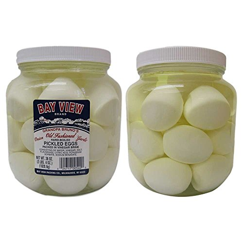 Garlic and Onion Pickled Eggs - 2 Jars
