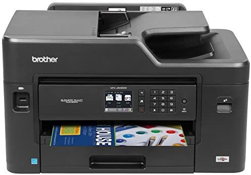 Brother MFC-J5330DW All-in-One Color Inkjet Printer, Wireless Connectivity, Automatic Duplex Printing, Amazon Dash Replenishment Ready