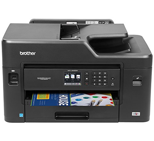 Brother MFC-J5330DW All-in-One Color Inkjet Printer, Wireless Connectivity, Automatic Duplex Printing, Amazon Dash Replenishment Enabled (Best Printer For Small Business Use)