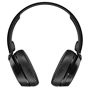 Skullcandy Riff Wireless On-Ear Headphone with Mic (Black)