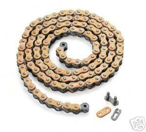 Ktm Chain - KTM 520 X 118 LINK ORANGE RACING CHAIN RK SX SXF XC XCF 5031016511804
