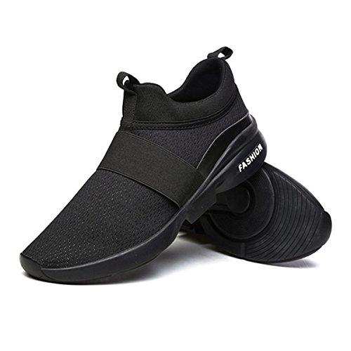 Pour Noirs Femmes Mesh Plein Et Lightweight Sports Homme Mode Respirantes Chaussures lastiques Sport Athletic Baskets Sport Hommes Gracosy De Air Course q4xzRnHtHB