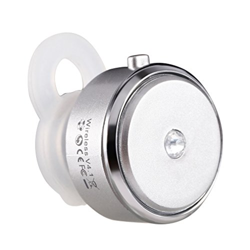 Stereo Earphone Mini V4 Bluetooth Headset(White) - 2