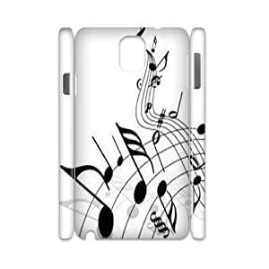 Music Personalized 3D Case for Samsung Galaxy Note 3 N9000, 3D Customized Music Case