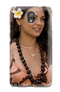 Slim Fit Tpu Protector Shock Absorbent Bumper Mila Kunis Blackberry Case For Galaxy Note 3