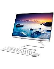 Lenovo IdeaCentre AIO A340 60,45 cm (23,8 Zoll,1920x1080, FHD, IPS, matt) All-in-One Desktop-PC (Intel Core i3-10110U, 8 GB RAM, 512 GB SSD, DVD-Brenner, Intel UHD Grafik, Windows 10 Home) weiß