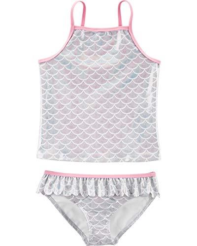 Carter's Little Girls' Two-Piece Swimsuit, Mermaid, - 2 Piece Suit Bathing Girls