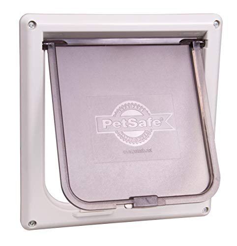 PetSafe Interior 2-Way Locking Cat Door, White from PetSafe