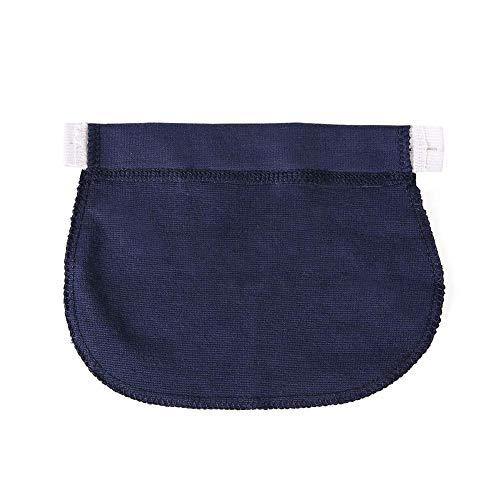 Bleu Bouton Femme Enceinte pour lastique Taille Jeans Pantalon Bouton Extension Extension de Z4qywP