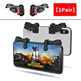【1 Pair】 IFYOO Z108 Mobile Gaming Controller Compatible with PUBG Mobile/Compatible with Fortnitee Mobile - Sensitive Shoot and Aim Trigger L1R1 Compatible with Android & iPhone