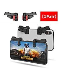 ?1 Pair? IFYOO Z108 Mobile Gaming Controller Compatible with PUBG Mobile Compatible with Fortnitee Mobile - Sensitive Shoot and Aim Trigger L1R1 Compatible with Android & iPhone