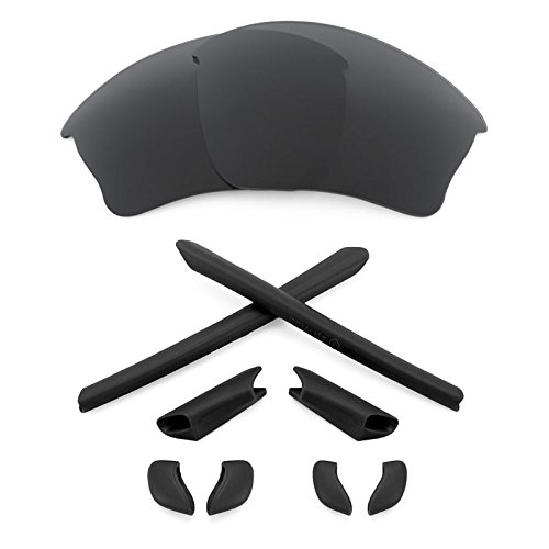 Revant Replacement Lenses + MaxGrip Rubber Kit for Oakley...