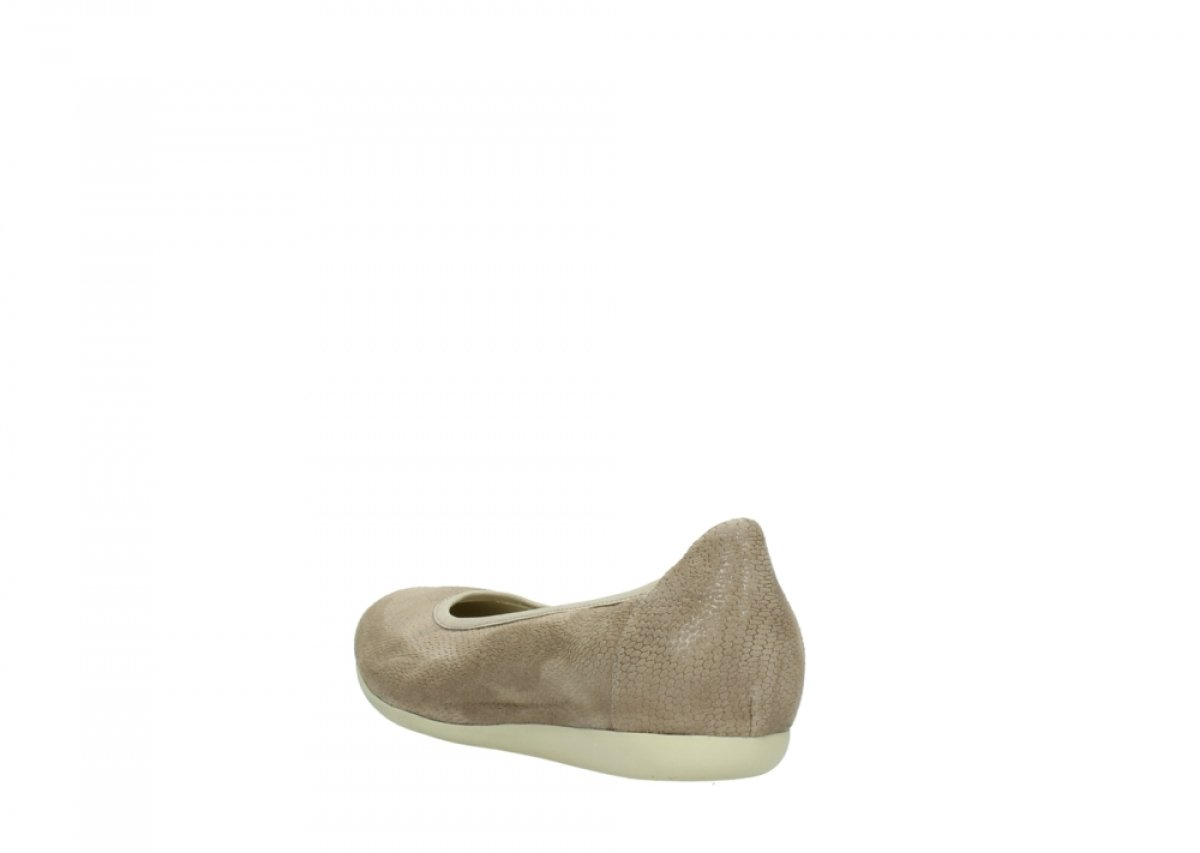 Wolky Comfort Ballet Pumps Tampa B079MGNNMV 37.5 EU|20150 Taupe Leather