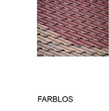 1L Ziegelfarbe Dachfarbe Dachbeschichtung Dachversiegelung In Farblos  Dachrenovierung Metalldach Blechdach Flachdach Farbe Beschichtung Anstrich  Ziegel Dach