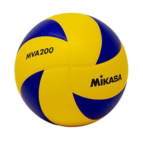 Mikasa MVA200 2008(Beijing), 2012(London), and 2016(Rio) indoor Olympic Games Ball (Blue/Yellow)