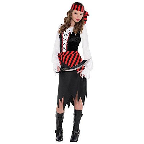 Juniors Buccaneer Beauty Costume Size X-Large (14-16)