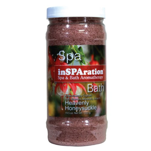 InSPAration 7461 Honeysuckle Crystals for Spa and Hot Tubs, 19-Ounce