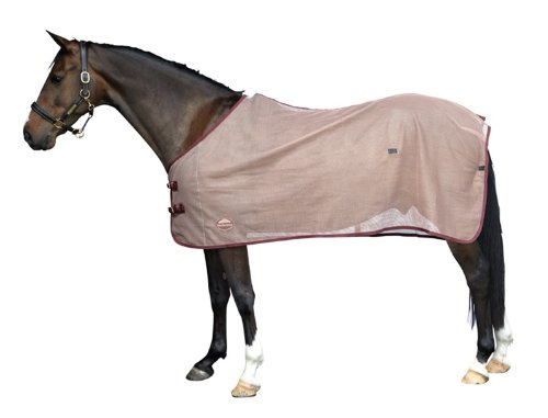 Weatherbeeta Scrim Cooler Standard Neck Grey/Navy Pony