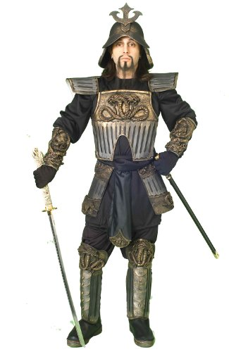 Samurai Warrior Costume for Adults White ()