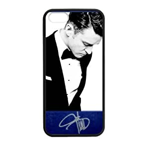 iPhone 5 Case, [justin timberlake] iPhone 5,5s Case Custom Durable Case Cover for iPhone5s TPU case (Laser Technology)