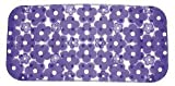 Gedy Gedy 973572-P9 Margherita Bath Mat, 5'' L x 28.35'' W, Lilac