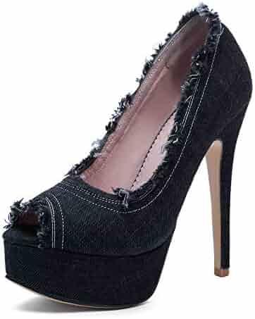 6bced498f3 Shopping Platform - Black - Pumps - Shoes - Women - Clothing, Shoes ...