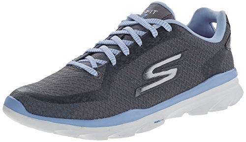 Skechers Performance Mujeres Go Fit 3 Calzado Para Caminar Carbón / Azul