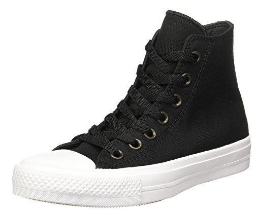 4bae661af88 Galleon - Converse Unisex Chuck Taylor All Star II Hi Basketball Shoe Black  White 6.5