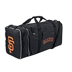 MLB San Francisco Giants Extended Duffle Bag, One Size, Black