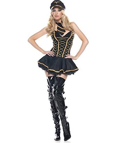 PINSE (Halloween Air Hostess Costume)