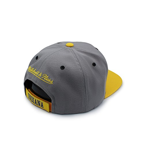 Mitchell amp; amarillo Talla béisbol Gorra única de gris Gris hombre para Ness raqw1xdfr