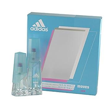 Adidas Moves for Women Gift Set (Eau De Toliette Spray 1.0 ounce Plus Eau De Toilette Spray 0.5 ounce)