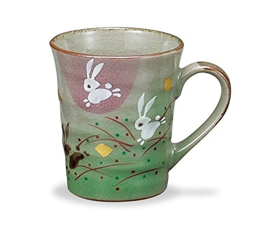 Used, JAPANESE Kutani Pottery Mug HANE USAGI Junping Rabbit for sale  Delivered anywhere in USA